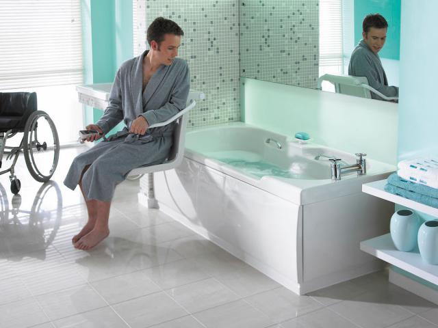 Vasche da bagno per anziani e disabili