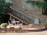 Montascale a pedana - Montascale porta carrozzine per scale dritte